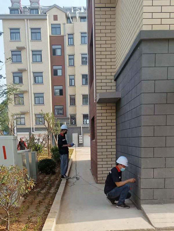 泰安住宅楼竣工检测