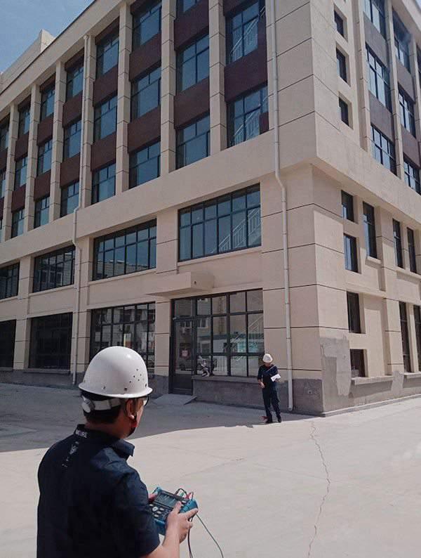 社区办公楼竣工检测