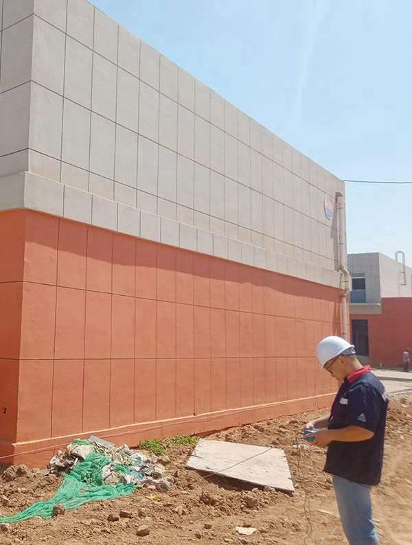 厂区办公楼竣工检测